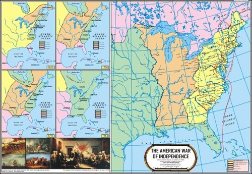 American War of Independence Map