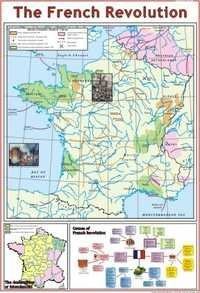 The French Revolution(1789) Part 1 Map