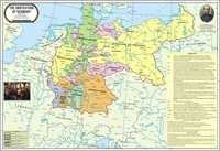 Struggle For The Unification of Germany Map