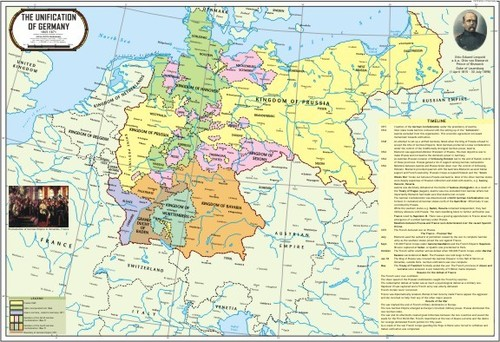 World War 2 in Europe Map
