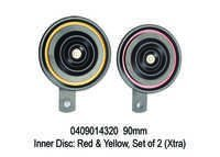 XT 4320 90 mm, Inner Disc Red & Yellow, Set of 2 (