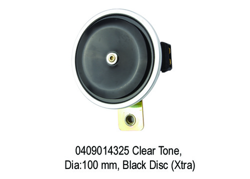 Clear Tone, Dia100 mm, Black Disc (Xtra)