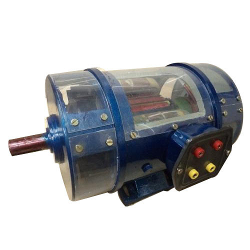 Cut Section Of DC Motor