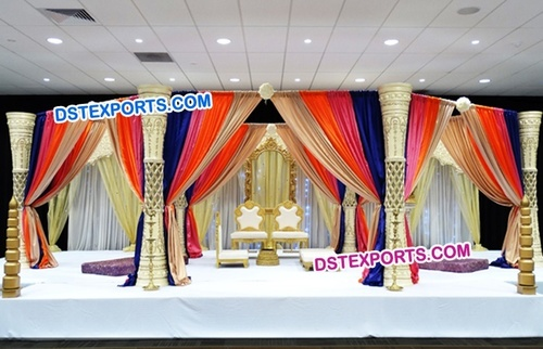 Grand Bollywood Walima Wedding Mandap