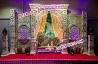 Bollywood Wedding Stylish Stage For Wedding