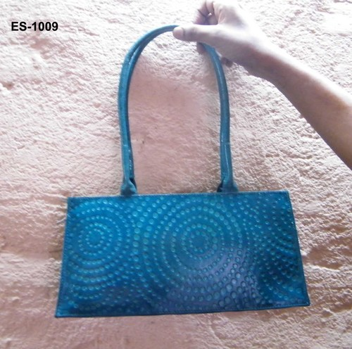 Ladies small handbag round dotted design