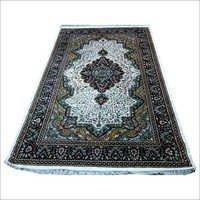 Hand Knotted Art Silk Staple Carpets