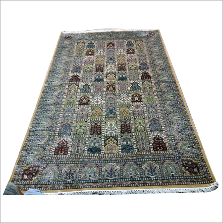 Art Silk Staple Carpets