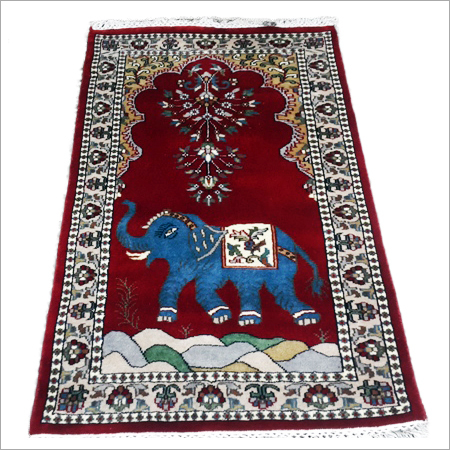 Designer Art Silk Staple Carpets
