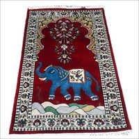 Designer Art Silk Staple Carpets