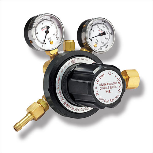 Gas Pressure Regulators -Helium