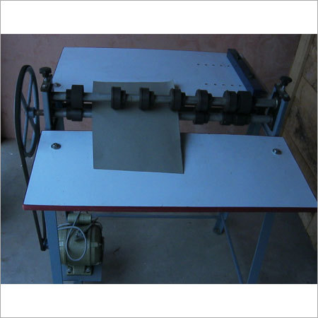 FMCG Special Type Paper Bag Creasing Machine