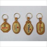 metal golden patta keychains