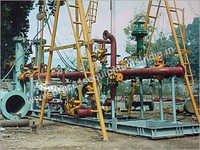 Gas Metering Steel Skids