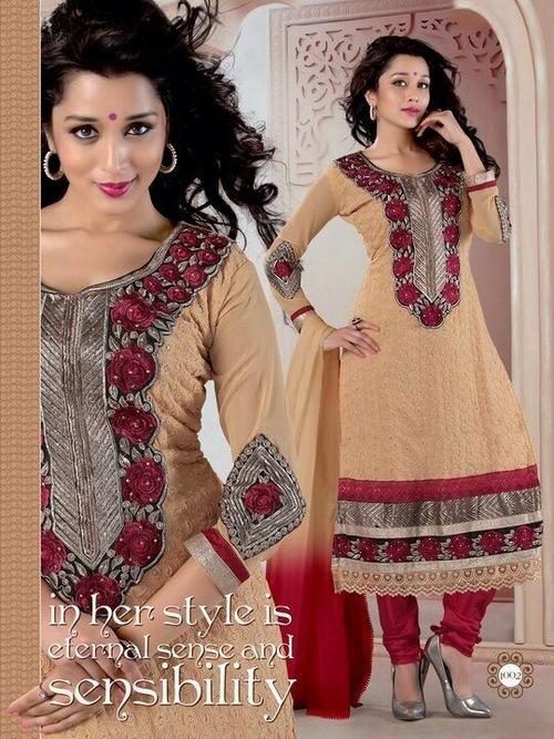 New Long Designer Salwar Kameez