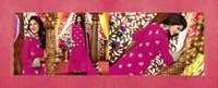 Dark Pink Georgette Designer Salwar Kameez