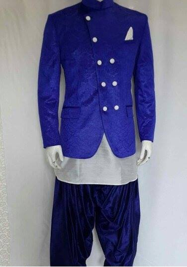 Designer Coat with Salwar and Kurta