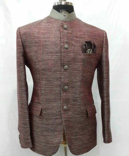 Jute Fabric Jodhpuri Suits