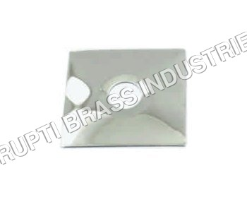 Brass CP Square Flange