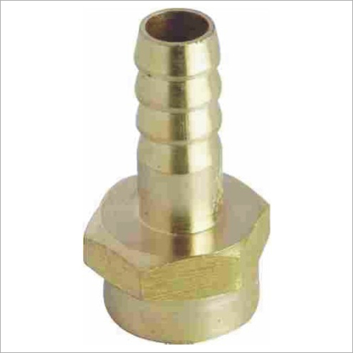 BRASS HOSE COLLER GROOVED UNION FEMALE END