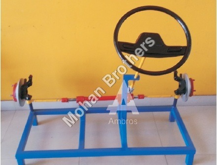 Rack & Pinion Steering Section Model