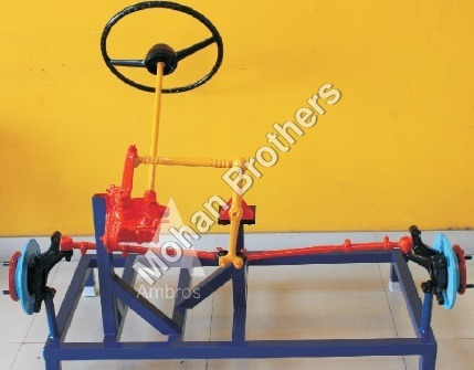 Worm & Roller Type Steering Section Model