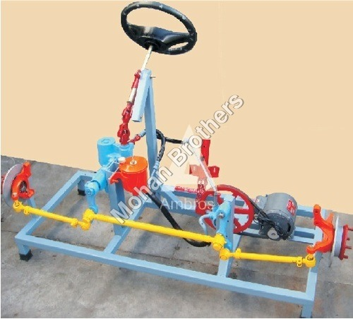 Collapsible Steering Column Section Model