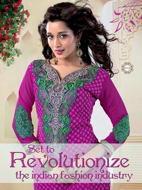 Designer Printed Salwar Suits