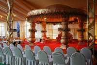 Wedding Stage Flower Decoration