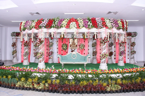 Artificial Wedding Stage Flower