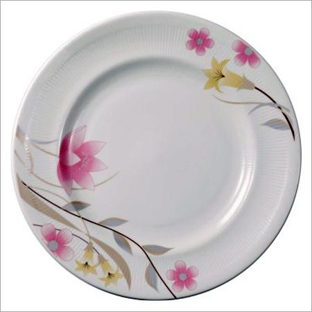 White Bone China Dinner Plates