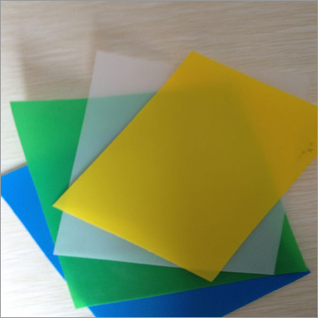 Thin Plastic Sheets