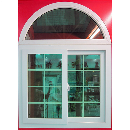 Arch UPVC Window