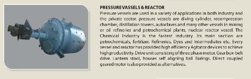 Pressure Vessels & Reactor