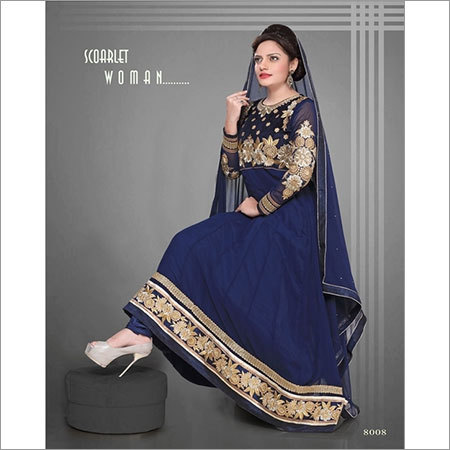 Heavy Embriodered Anarkali Suit