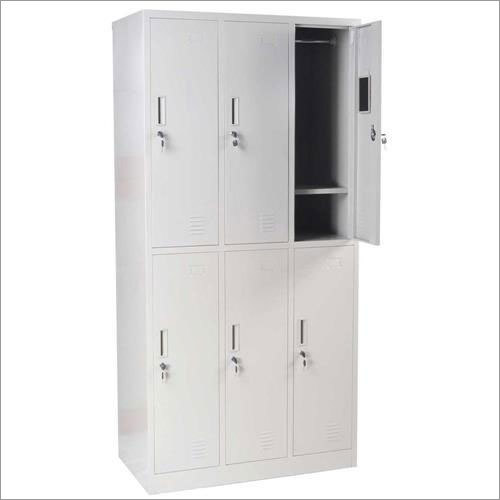School/ Gym 6 Door Clothing Storage Metal Locker