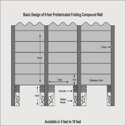 Precast Compound Boundary Wall
