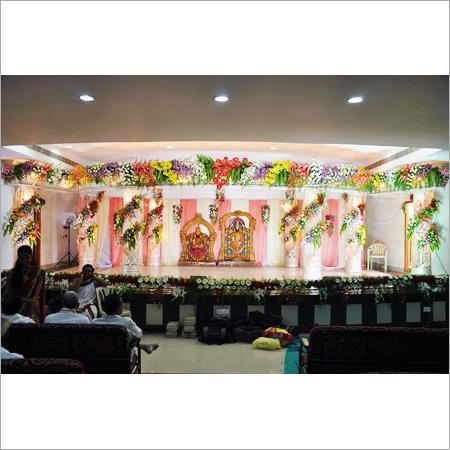 Wedding Stage Flower Decoration