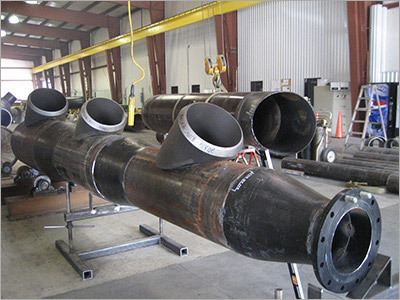 Pipe Line Manifold Fabrication Services