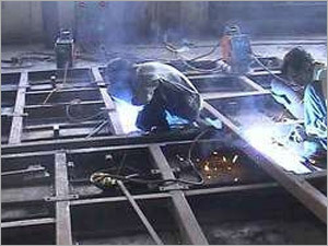Structural Frame Fabrication Work