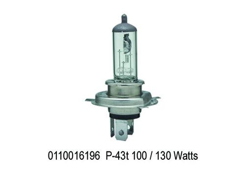 P-43t, Xtra Light 12V 130100 Watt