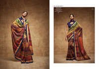 Exclusive Printed Silk Designer Saree