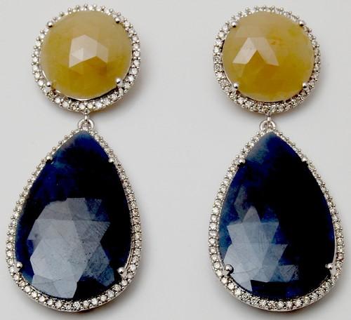 Fine Gemstone Earring Jewellery Wholesale, Export