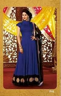 High Neck Designer Anarkali