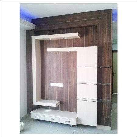 Custom TV Wall Cabinet