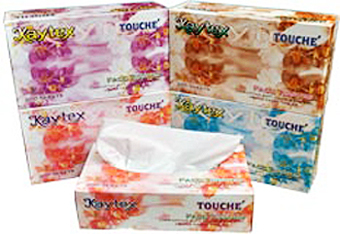 Touche Facial Tissue Paper