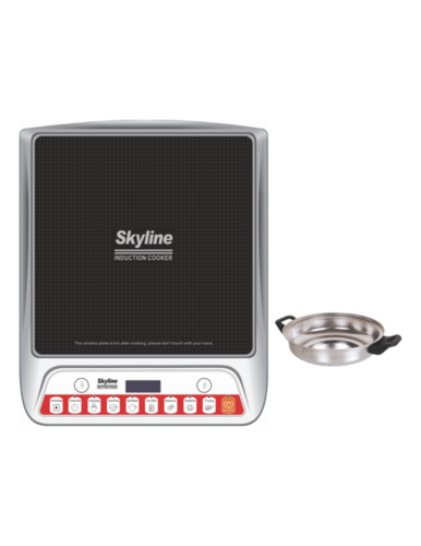 Induction Cooker with Steel Pot