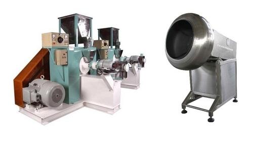 RICE & PUFF EXTUDER MAKING MACHINE