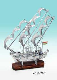 Aluminum Ship Replica