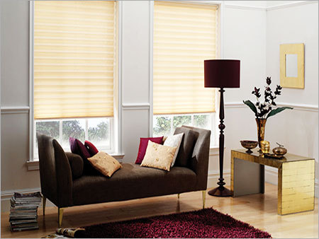 Horizontal Striped Window Blinds